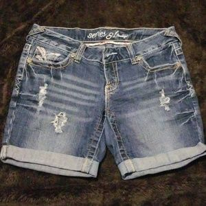 Series 31 Amethyst Blue  Jean's Shorts (7)
